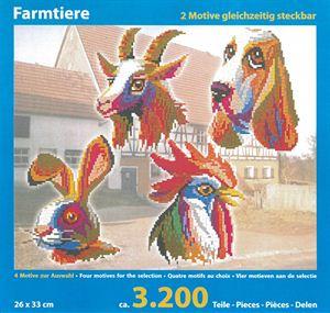 41242 10.000 Teile mit XXL-Steckvorlage Nr Mini Stecksystem Wildenten ca