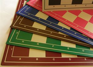 Schachplanen faltbar in verschiedenen Farben
